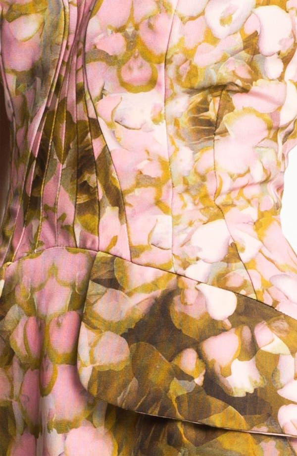 Alternate Image 3  - McQ by Alexander McQueen Rose Print Dress