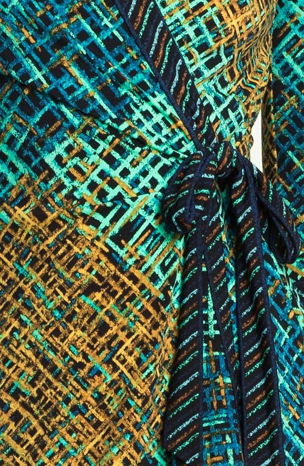 Alternate Image 3  - BCBGMAXAZRIA Print Jersey Wrap Dress