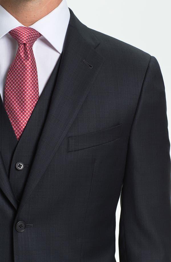 Alternate Image 5  - Joseph Abboud Trim Fit Three Piece Suit