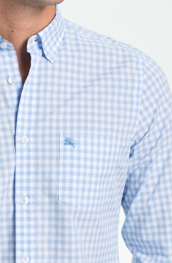 Alternate Image 3  - Burberry Brit 'Fred' Gingham Check Poplin Sport Shirt