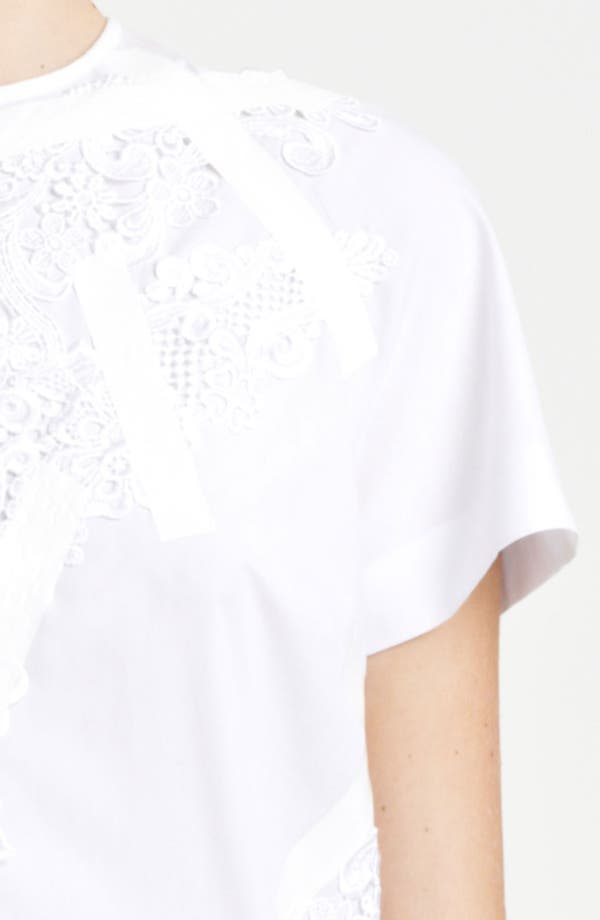 Alternate Image 3  - Christopher Kane Lace & Tape Detail Shift Dress