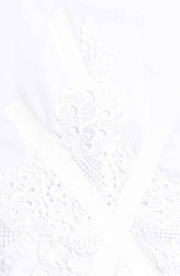 Alternate Image 3  - Christopher Kane Lace & Tape Detail Pencil Skirt