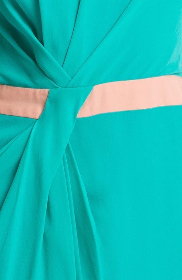 Alternate Image 3  - Rebecca Minkoff 'Sacramento' Colorblock Silk Dress