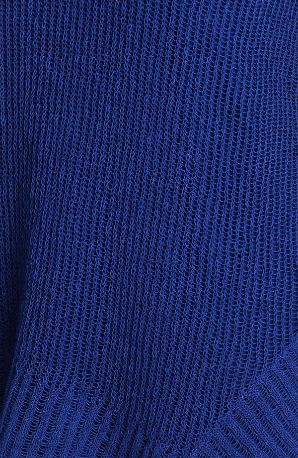 Alternate Image 3  - Eileen Fisher Open Stitch V-Neck Top