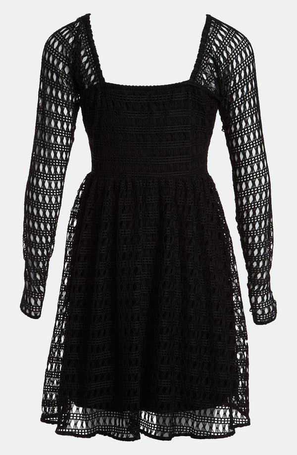 Alternate Image 2  - Viva Vena! 'Geometric Lace' Dress