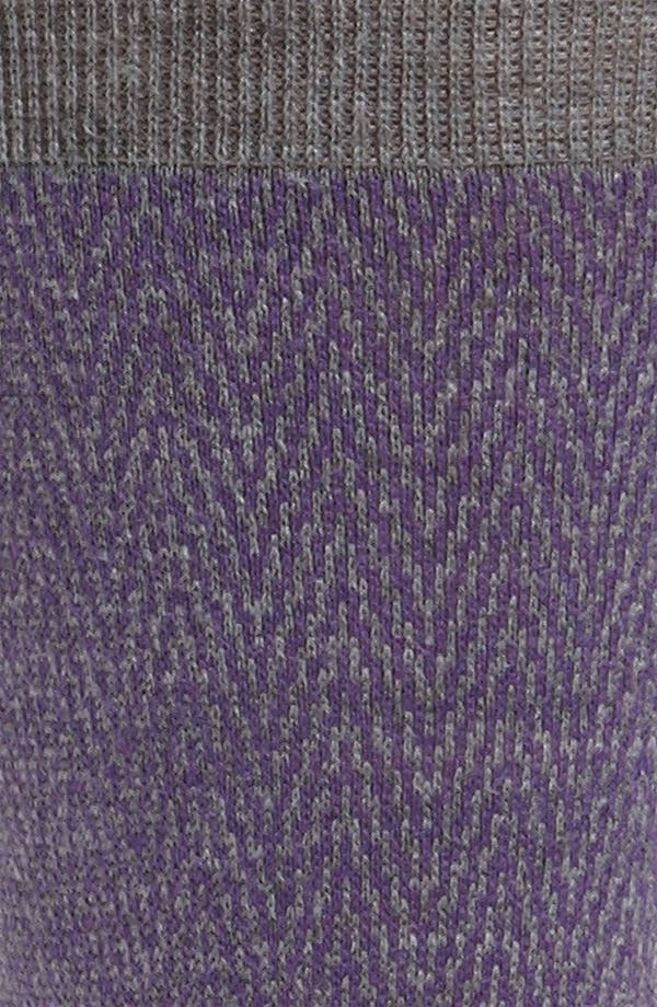 Alternate Image 2  - Ermenegildo Zegna Herringbone Socks
