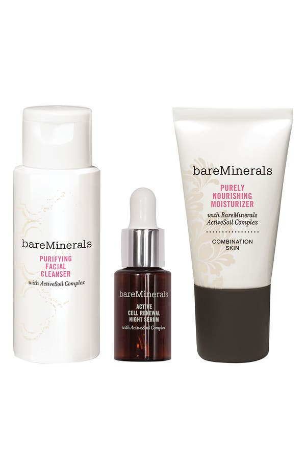 Alternate Image 1 Selected - bareMinerals® 'Youth Revealed' Discovery Kit for Combination Skin