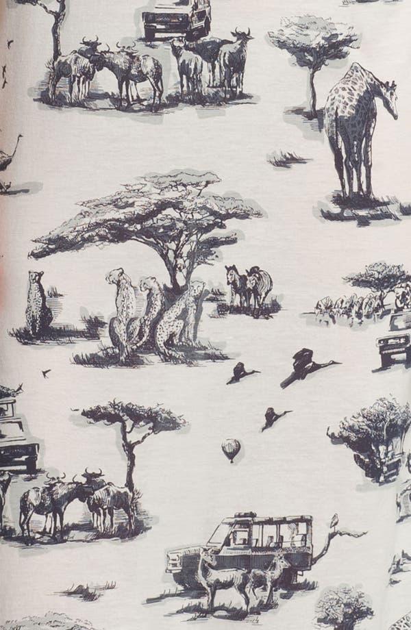 Alternate Image 3  - Carven Safari Print Jersey Column Dress