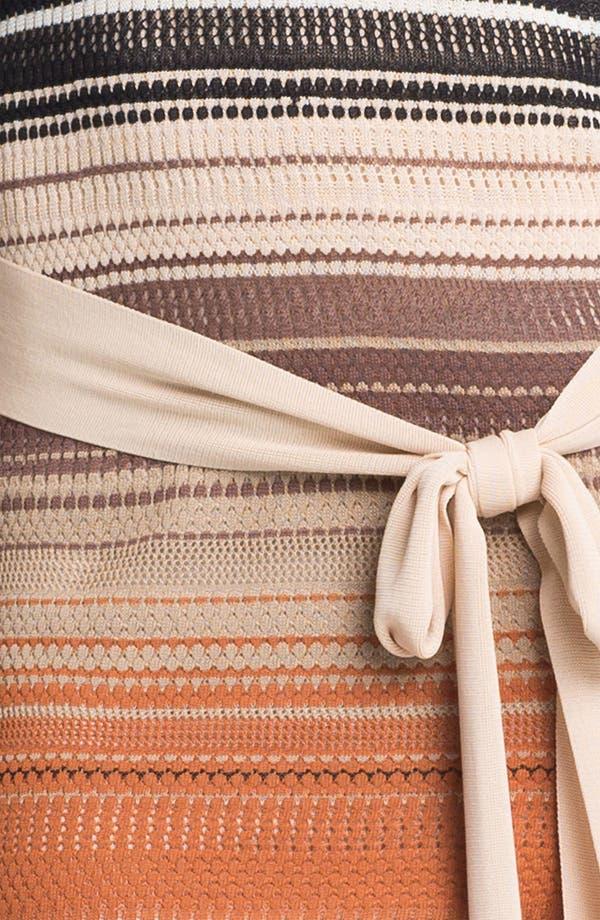 Alternate Image 3  - Haute Hippie Stripe Pointelle Knit Dress
