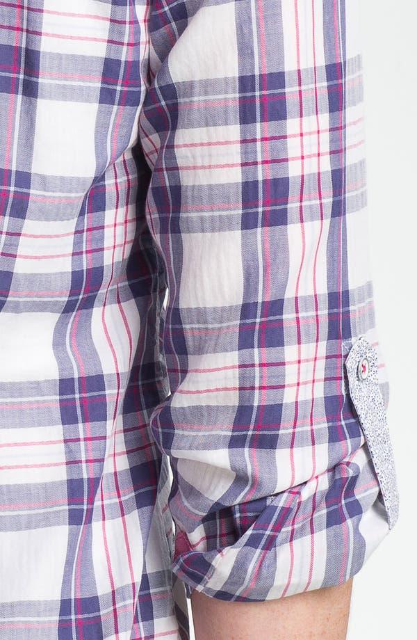 Alternate Image 3  - Shirt 469 Plaid Poplin Shirt