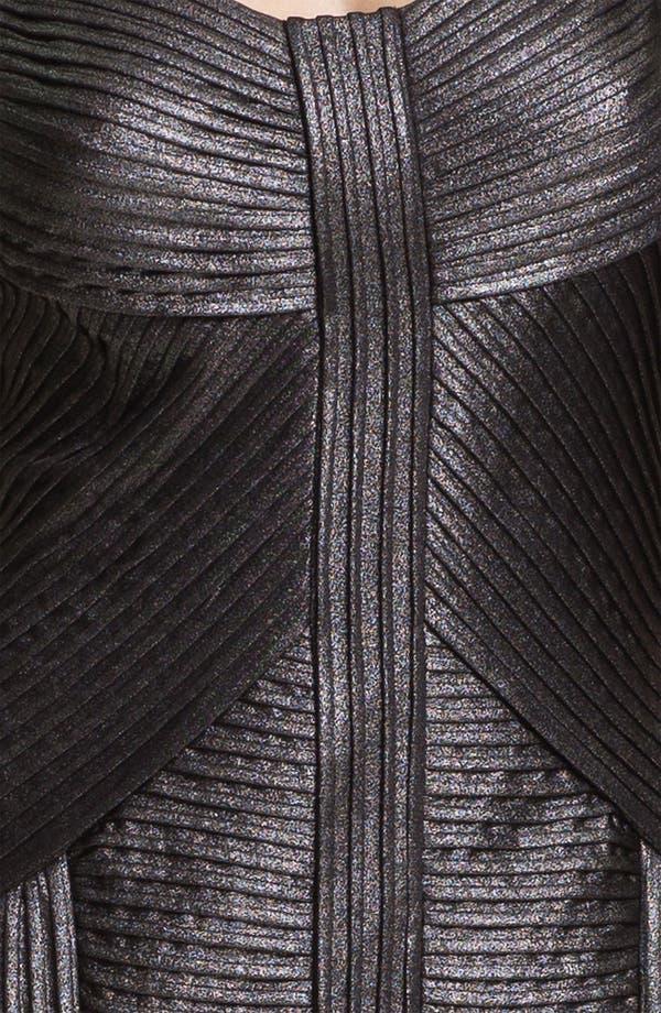 Alternate Image 3  - Tadashi Shoji Metallic Ottoman Sheath Dress