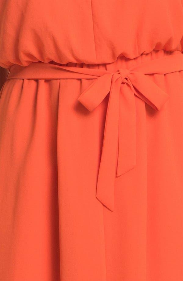 Alternate Image 3  - Jessica Simpson Blouson High/Low Crepe Dress
