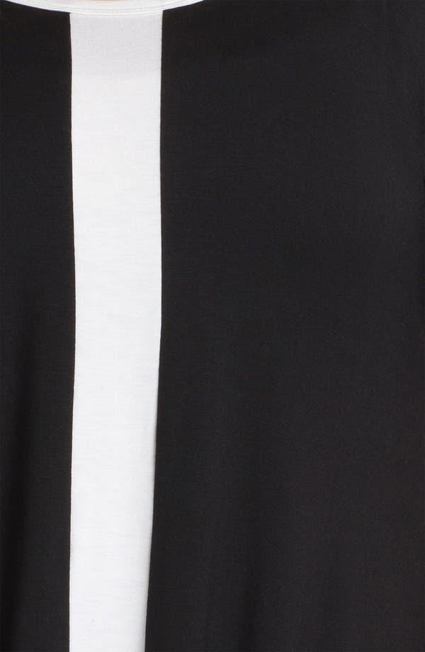 Alternate Image 3  - Karen Kane Contrast Trim Handkerchief Top (Plus)