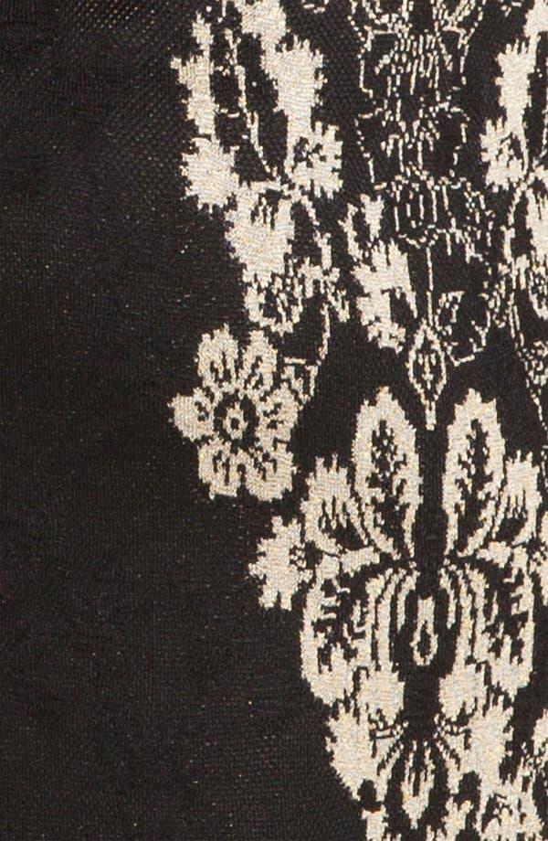 Alternate Image 4  - St. John Collection Floral Jacquard Knit Sheath Dress