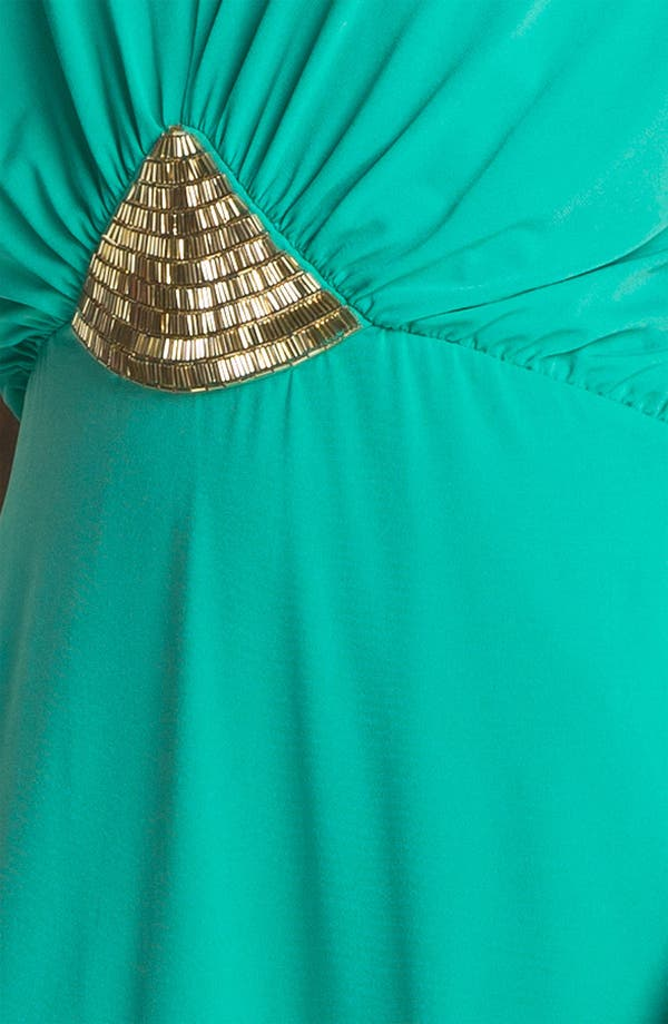 Alternate Image 3  - Trina Turk Embellished Blouson Jersey Dress
