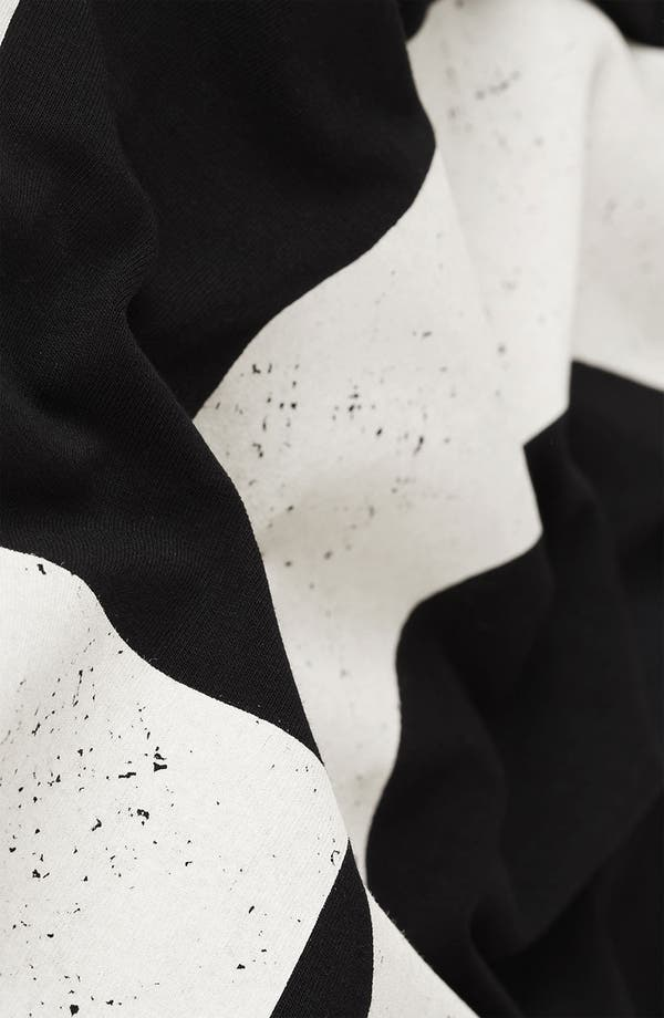 Alternate Image 3  - Topshop 'Love' Print Midi Skirt