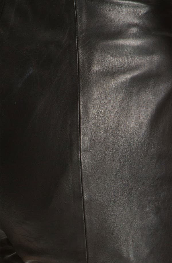 Alternate Image 8  - T by Alexander Wang Lightweight Leather Shorts
