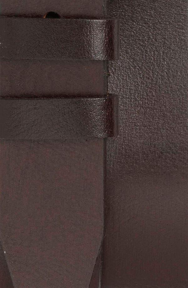 Alternate Image 2  - Nordstrom Leather Belt