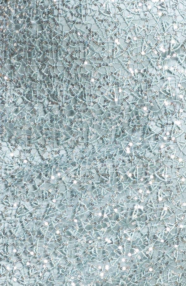 Alternate Image 3  - Kay Unger Metallic Lace Sheath Dress