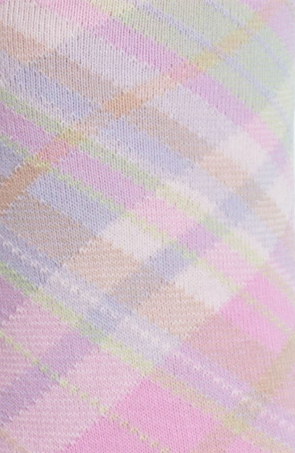 Alternate Image 2  - Ralph Lauren Plaid Crew Socks