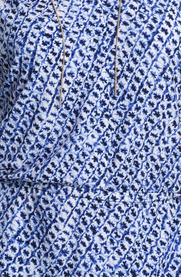 Alternate Image 3  - MICHAEL Michael Kors Print Blouson Peplum Top (Plus)