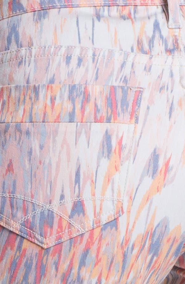 Alternate Image 3  - Christopher Blue 'Chloe' Print Crop Jeans