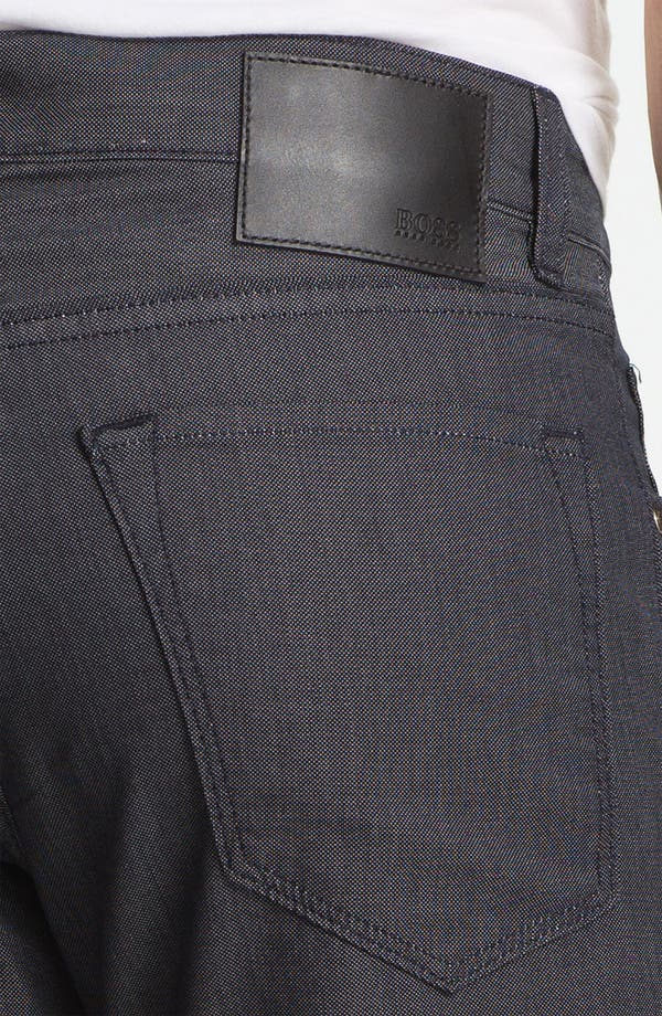 Alternate Image 3  - BOSS HUGO BOSS 'Maine' Straight Leg Five Pocket Pants