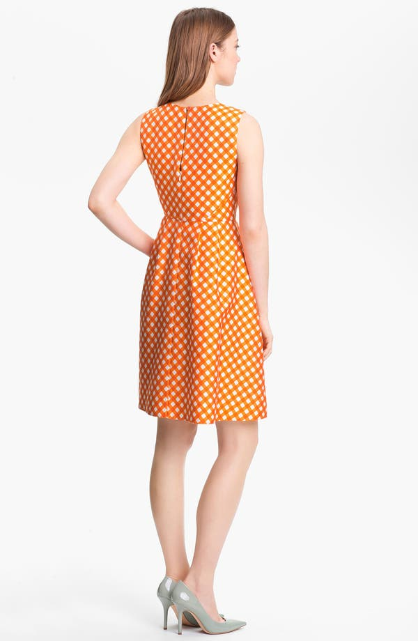 Alternate Image 2  - kate spade new york 'tallulah' silk blend fit & flare dress