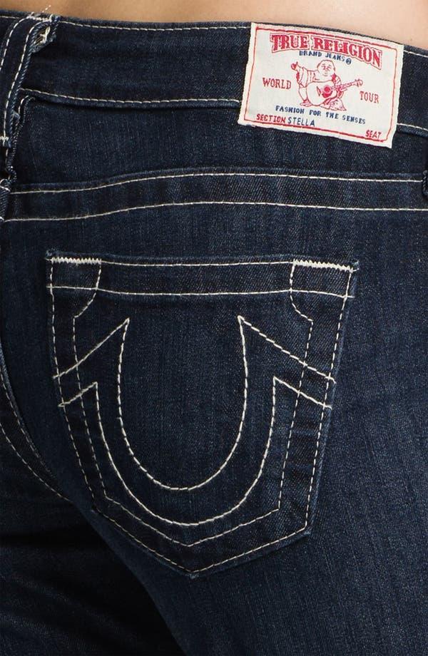Alternate Image 3  - True Religion Brand Jeans 'Stella' Skinny Jeans (Lonestar)