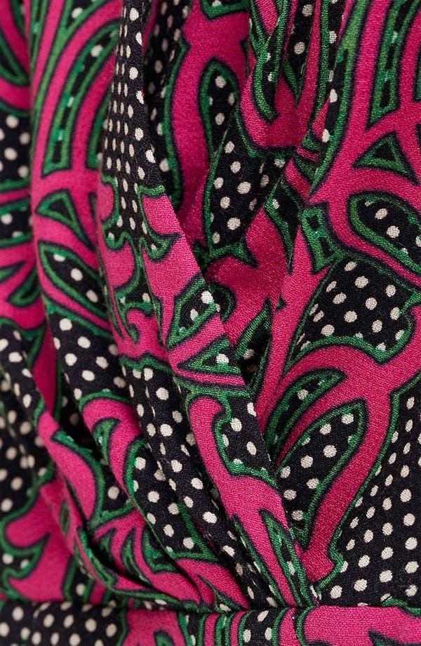 Alternate Image 4  - Topshop 'Darcy' Vintage Print Dress