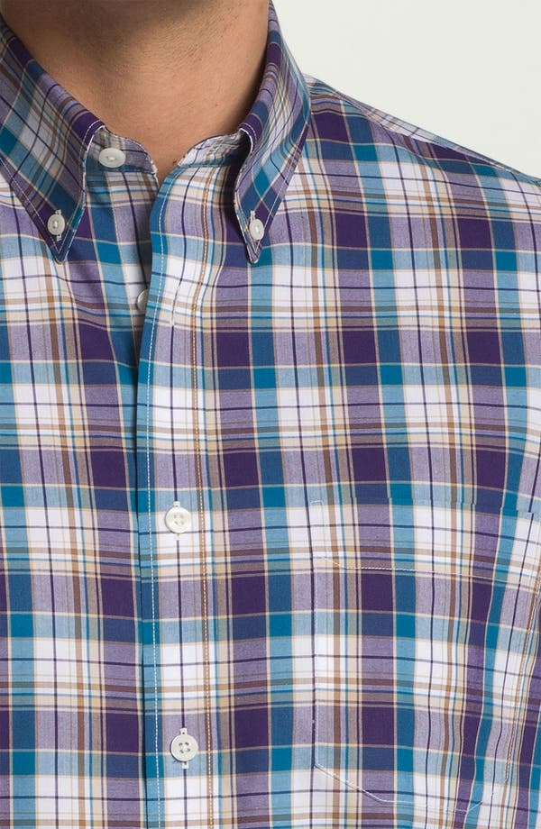 Alternate Image 3  - Nordstrom Smartcare™ Regular Fit Short Sleeve Sport Shirt