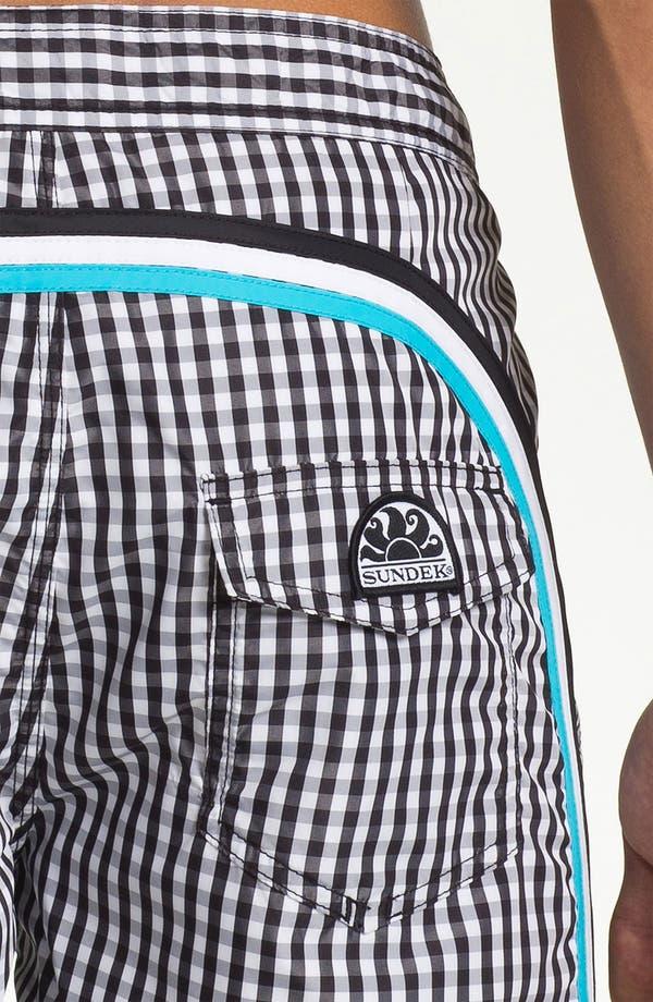 Alternate Image 3  - Sundek 'Vichy' Board Shorts