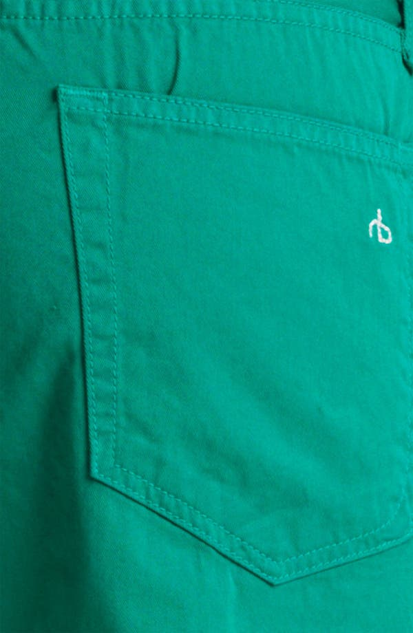 Alternate Image 4  - rag & bone 'RB15X' Slim Straight Leg Jeans