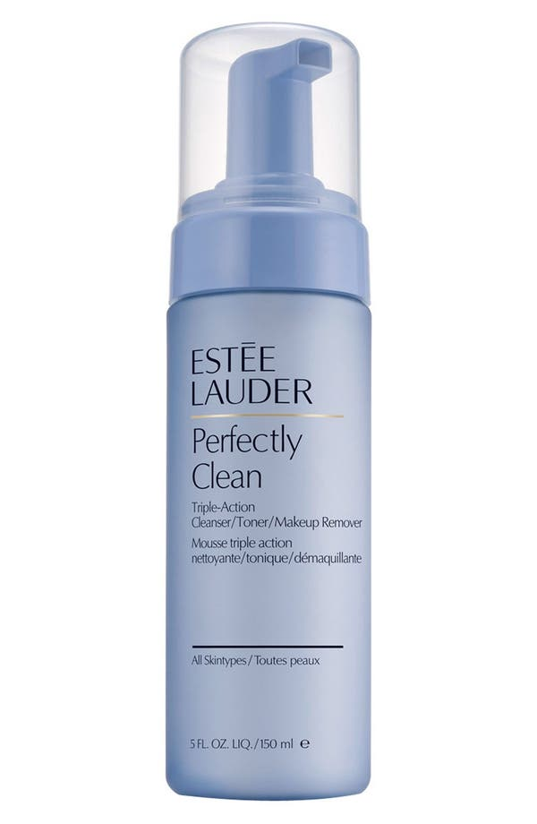Alternate Image 1 Selected - Estée Lauder Perfectly Clean Triple-Action Cleanser/Toner/Makeup Remover