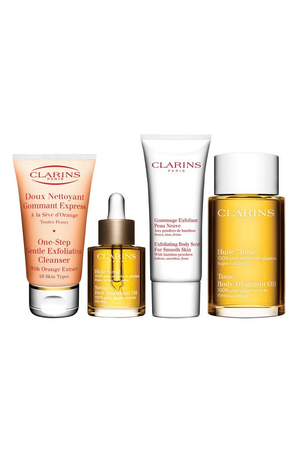 Alternate Image 1 Selected - Clarins Spa Therapy Set (Nordstrom Exclusive) ($140.50 Value)