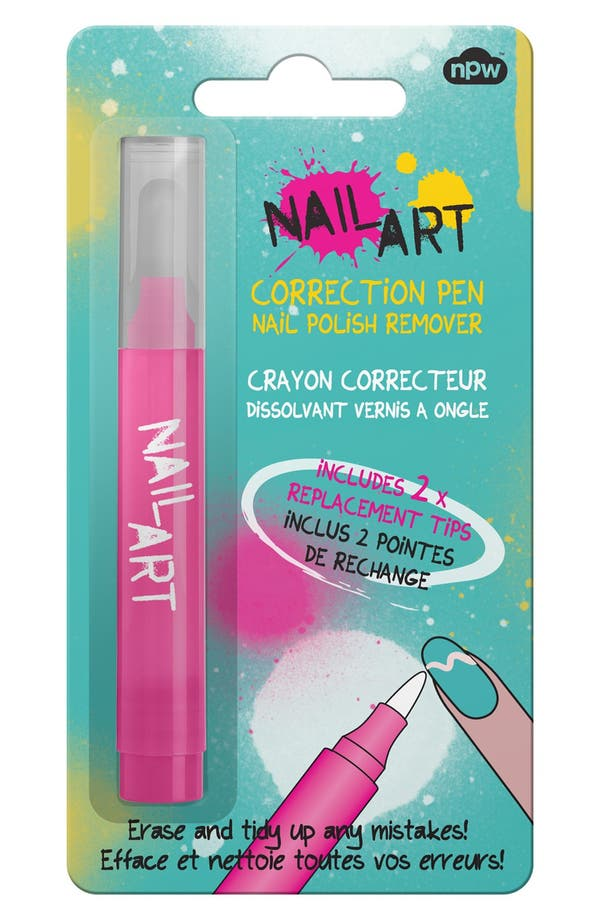 Alternate Image 2  - NPW Strawberry Nail Corrector Pen