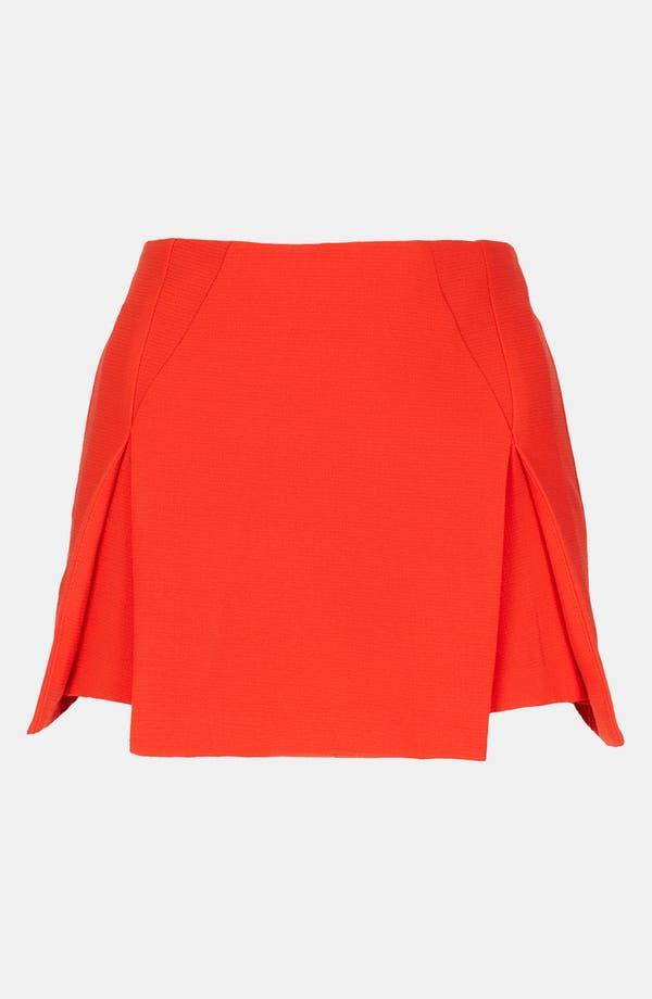 Main Image - Topshop Origami Pleat Miniskirt