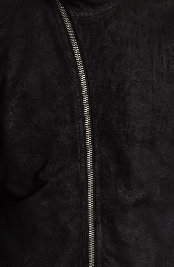 Alternate Image 3  - Rick Owens 'Mollino' Lambskin Leather Jacket