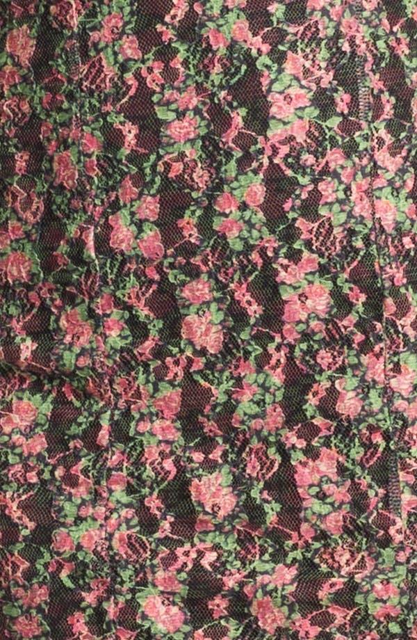 Alternate Image 3  - Lovers + Friends 'Au Natural' Lace Minidress