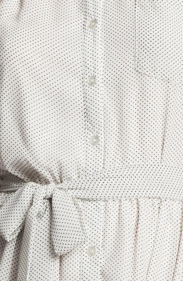 Alternate Image 3  - Press Sleeveless Shirtdress (Online Only)