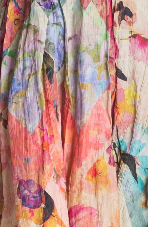 Alternate Image 3  - Nicole Miller 'Blue Eden' Floral Print Fit & Flare Dress