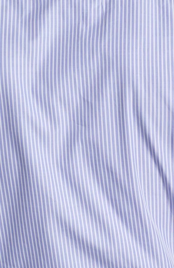 Alternate Image 3  - Armani Collezioni Trim Fit Stripe Cotton Dress Shirt