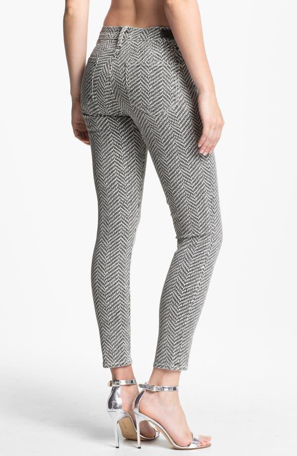Alternate Image 2  - Paige Denim 'Hoxton' Ankle Jeans (White/Black)