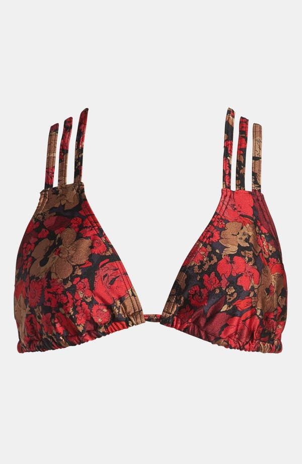 Alternate Image 1 Selected - MINKPINK 'Midnight Dreaming' Triangle Bikini Top