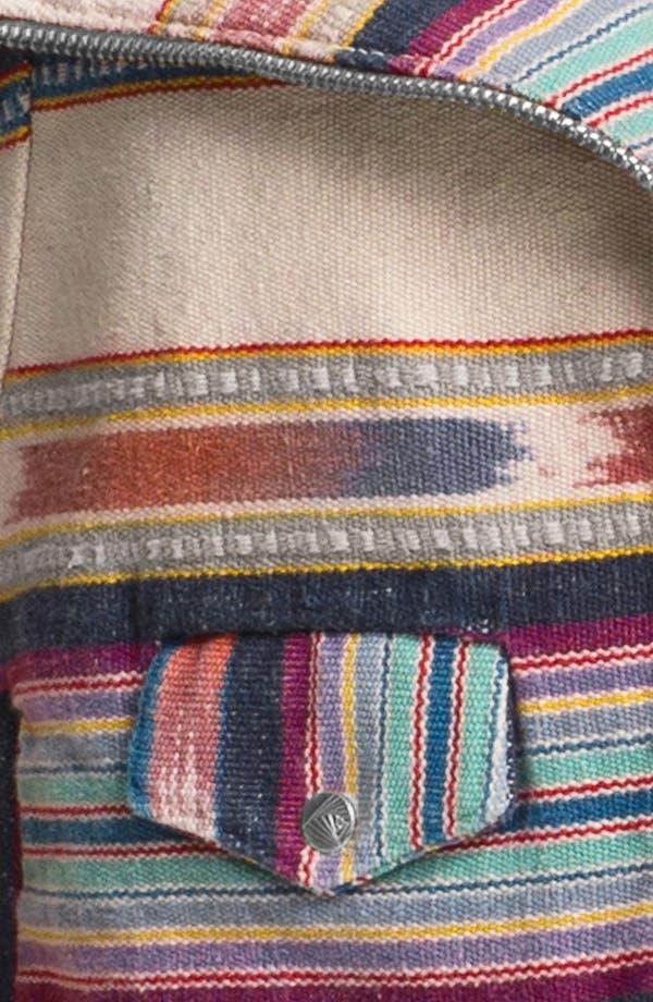 Alternate Image 3  - ELEVENPARIS 'Ekit' Blanket Stripe Biker Jacket