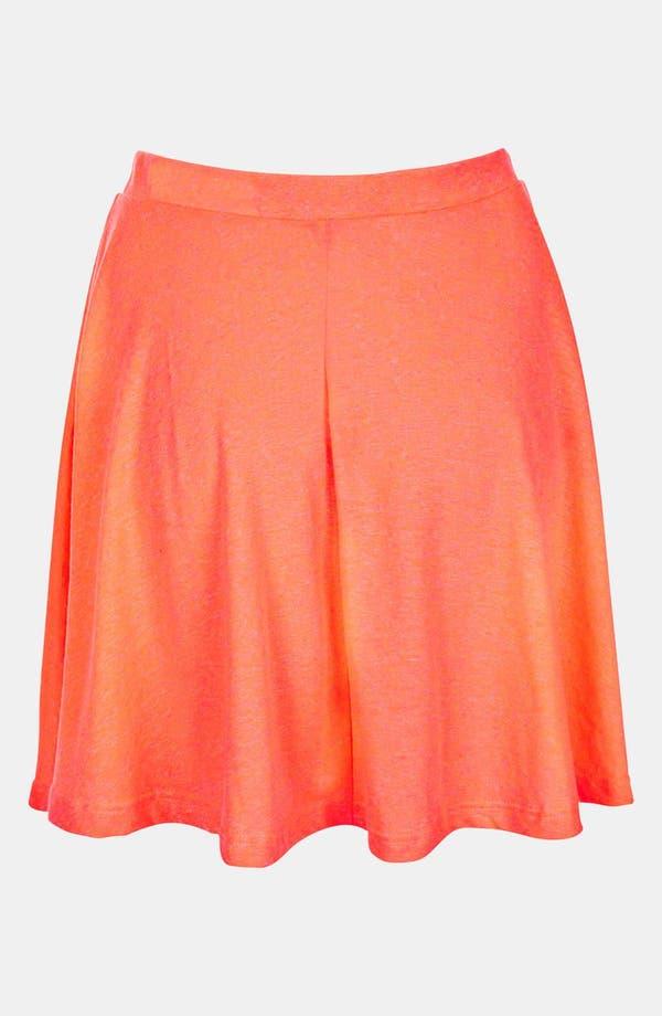 Alternate Image 2  - Topshop 'Andie' Neon Skater Skirt