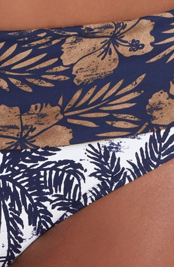Alternate Image 5  - Tommy Bahama 'Tiki Moon' High Waist Bikini Bottoms