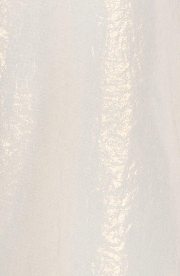 Alternate Image 3  - ASTR Sheer Iridescent Blouse
