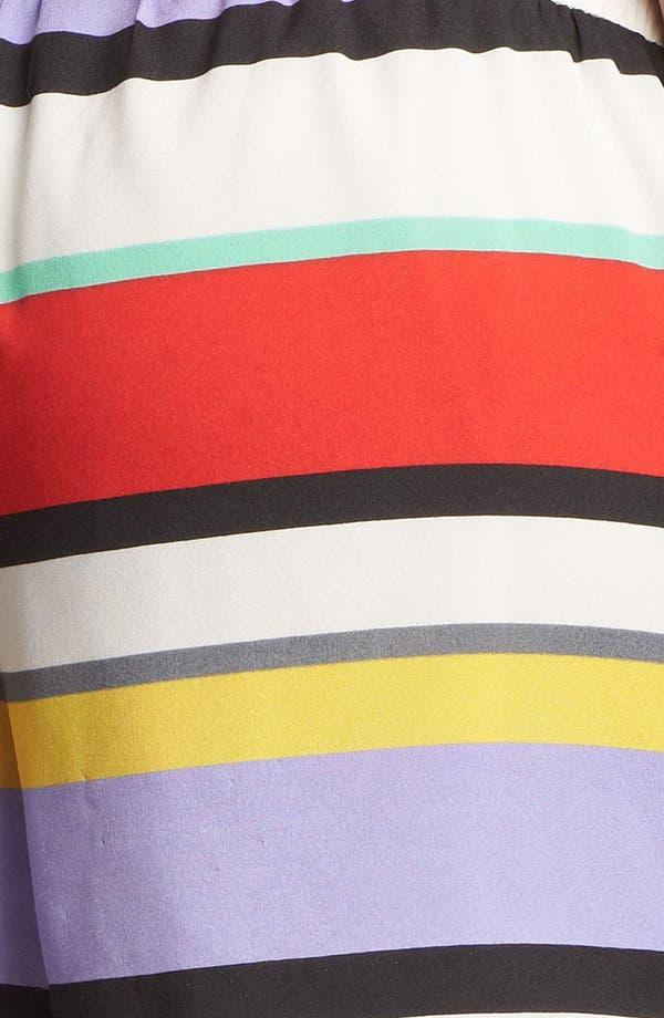 Alternate Image 4  - Kensie Stripe Drawstring Shorts