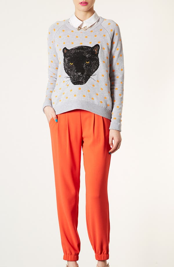 Alternate Image 5  - Topshop Panther Motif Sweater